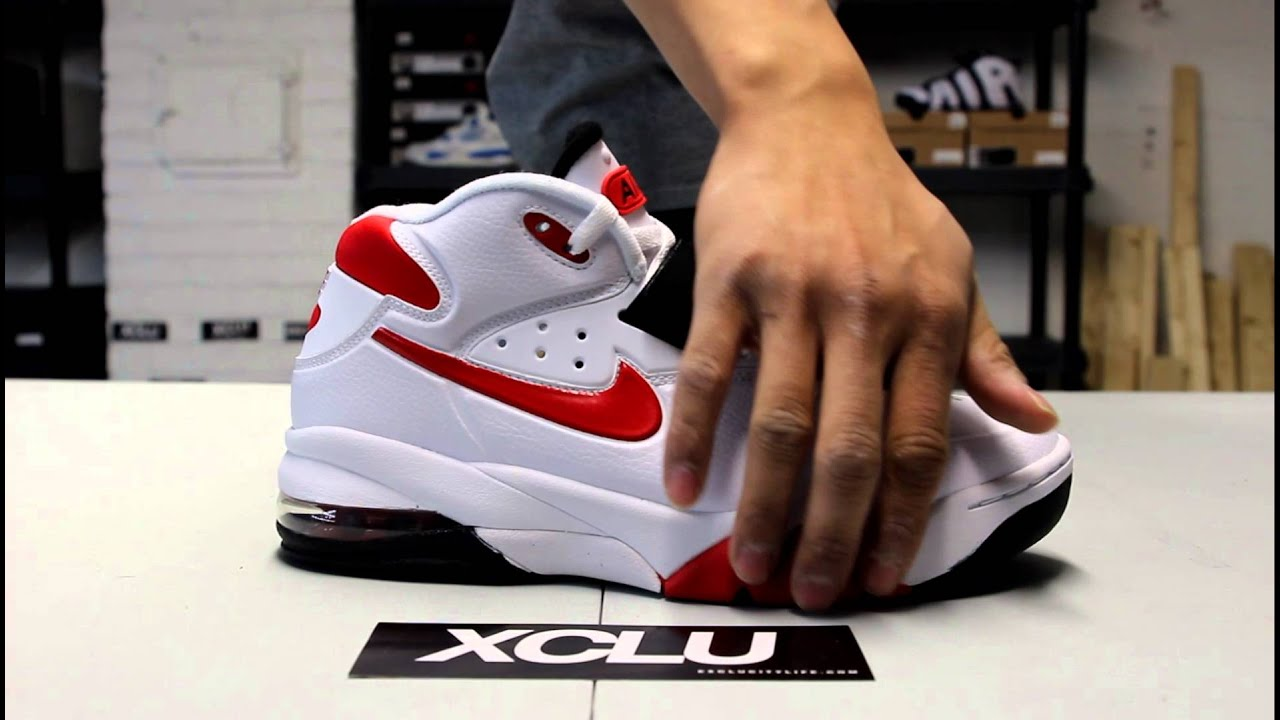 Nike Air Force Max 2013 White - Red Unboxing at Exclucity - YouTube e0b6b8ef1