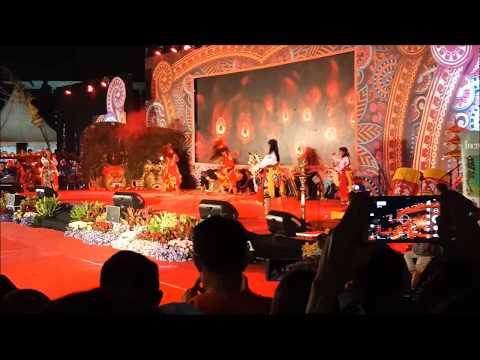 BAGUS SEKALI !! kolaborasi budaya INDONESIA dan INDIA , MALANG ART FESTIFAL