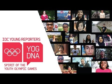 Introducing the International Olympic Committee Young Reporters, class of #Nanjing2014