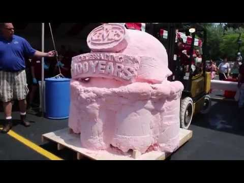 Worlds Largest Scoop of Ice Cream unveiled in USA