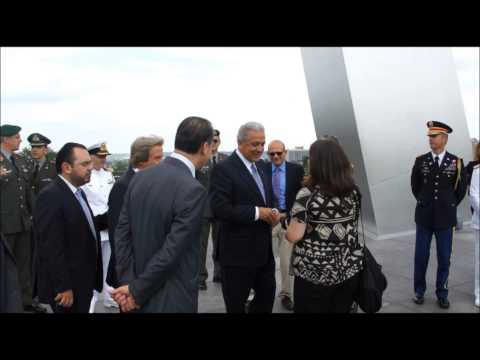 Dimitris Avramopoulos childish insult to a Macedonian journalist