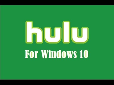 hulu-for-windows-10