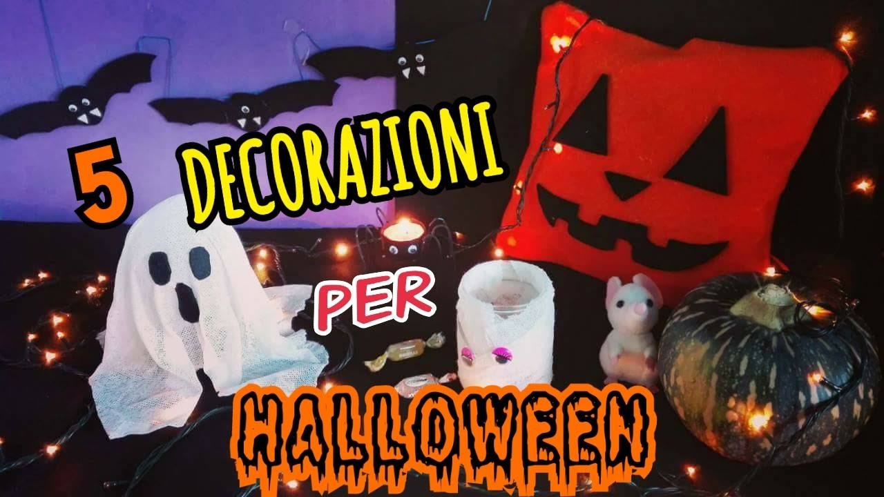 5 decorazioni per halloween fatte in casa diy room decor - Decorazioni halloween fatte in casa ...