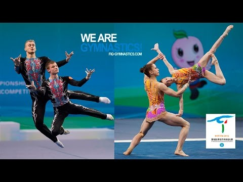 HIGHLIGHTS - 2016 Acrobatic Worlds, Putian (CHN) – Men's and Women's Pairs - We are Gymnastics!