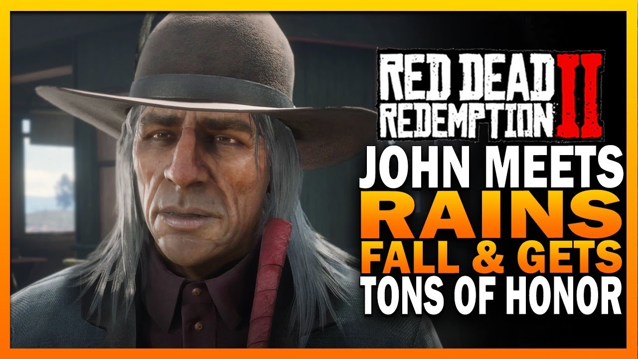 John Marston Meets Rains Fall & Gets A TON Of Honor - Red Dead Redemption 2 [ RDR2 ]