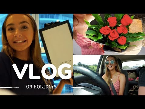 BUYING A GUCCI BAG,  HOTEL TOUR | HOLIDAY VLOG