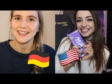 [ASMR] Gibi & Fast ASMR: German 🇩🇪 vs American 🇺🇸 Candy