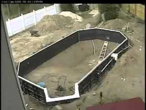 Inground pool do it yourself video youtube inground pool do it yourself video solutioingenieria Image collections