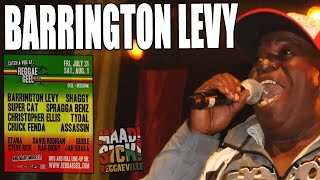 Barrington Levy - Too Experienced @ Reggae Geel 2015