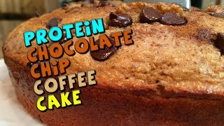 Protein Coffee Cake Recipe (chocolate Chip)