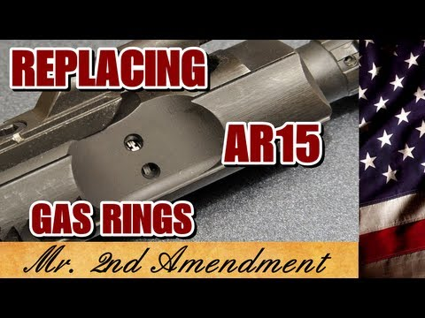 Replacing AR15 Gas Rings