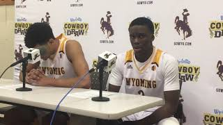 Wyoming's Justin James, AJ Banks talk another turnover-filled loss to UNLV
