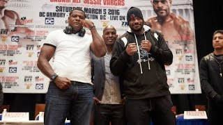 Luis Ortiz-Tony Thompson & Jesse Vargas-Sadam Ali Preview Show