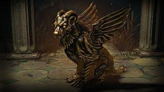 Path of Exile - Gold Gargoyle Pet