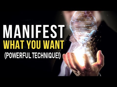 The Law of Attraction Technique That Can TOTALLY Change Your Life! POWERFUL Tool! Manifest Anything