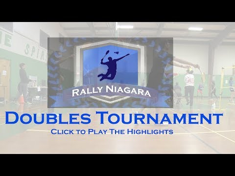 Recap 2019 Rally Niagara Spring Youth Doubles Tournament