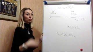 Текстовые задачи - Движение навстречу друг другу - часть 1 (прямой эфир)