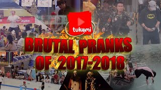 BRUTAL PRANKS of 2017-2018 | Tukomi Year-End Recap