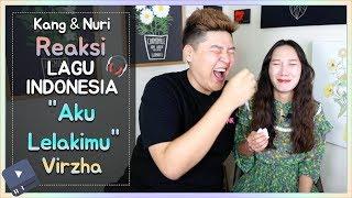 "Reaksi Suami&Istri Korea Lagu ""Aku Lelakimu"" (Virzha) gile.. kok baru tau lagu ini!!! MP3"