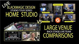 Blackmagic Design Home Studio vs Large Venue Part One