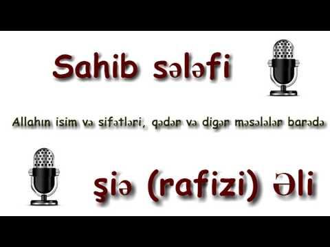 Allahın İsim Və Sifətləri, Qədər Məsələsi Barədə MUNAZİRƏ