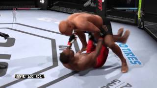 EA Sports UFC Online Ranked Match: Broken ground game