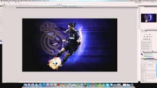 iNoooob25 GFX Contest Entry | CR7 Wallpaper Speedart | By Rigo9817(, 2012-10-29T22:37:57.000Z)