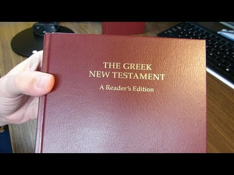 The Reader's Edition of the UBS5 Greek New Testament, a Tour