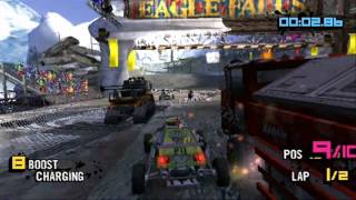Motorstorm Arctic Edge Intro and PSP Gameplay