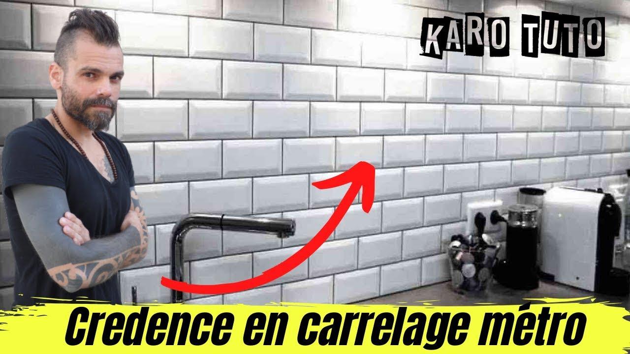 Carrelage Sol Moche Que Faire comment faire une crédence en carrelage métro? partie 3
