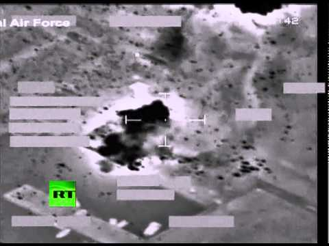 Caught on Tape: NATO bombs Libya 'warships', RAF cockpit combat camera