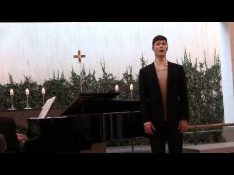 Unge sangere 2012 Finale Lauritz Jacob Thomsen