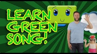 Learn the Color Green Song Only