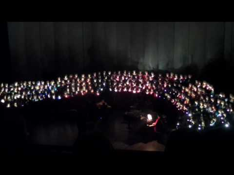 Austin high school choirs Bohemian Rhapsody