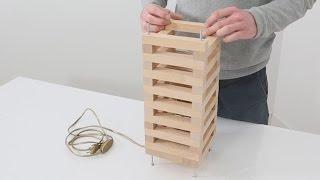 TUTO BRICO - Comment fabriquer la lampe