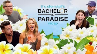 Krystal Nielson & Chris Randone Spill the Tea in the Ellen Staff's 'Bachelor in Paradise' Recap!