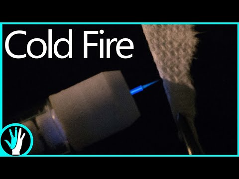 Cold Fire You Can Touch  DIY Cold Plasma Torch