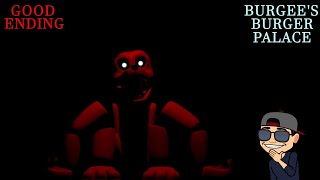 Good Ending, Insane Mode And Extras | Burgee's Burger Palace | Final Bueno | Fnaf Fan Game 2020 |