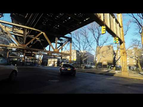 Tremont Avenue Bronx New York City (NYC) USA 4K