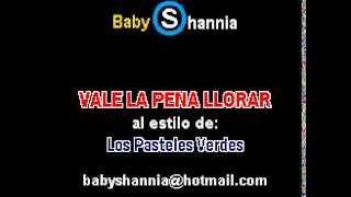 PASTELES VERDES - VALE LA PENA LLORAR (demo karaoke)