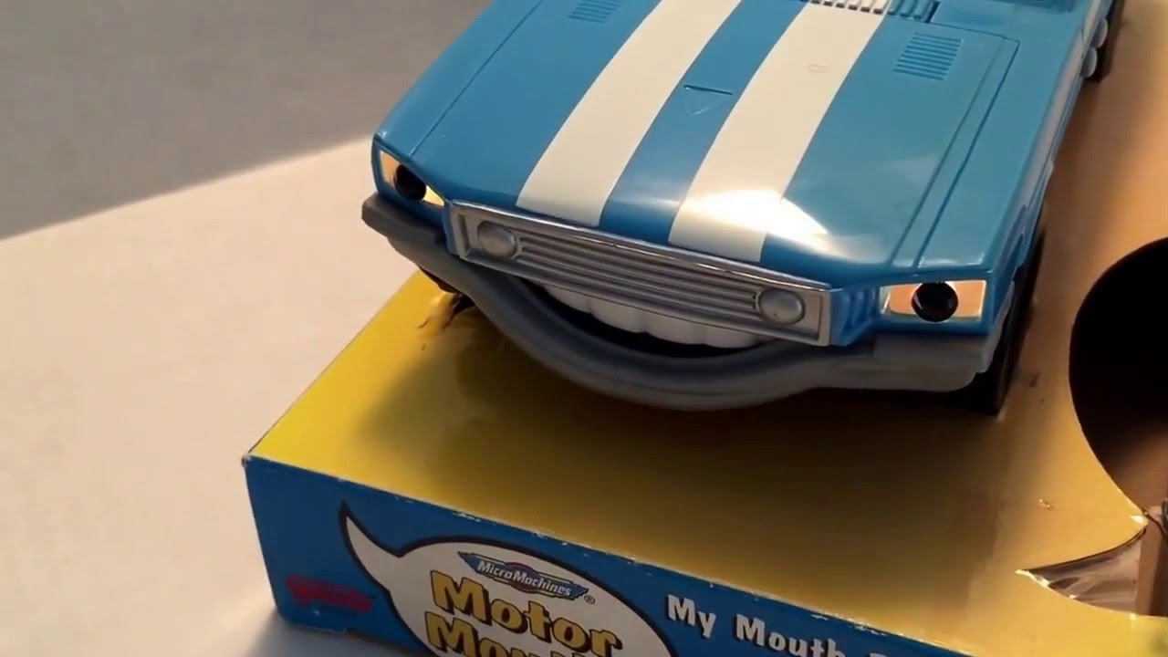 micro machines motor mouths talking tex mustang - youtube