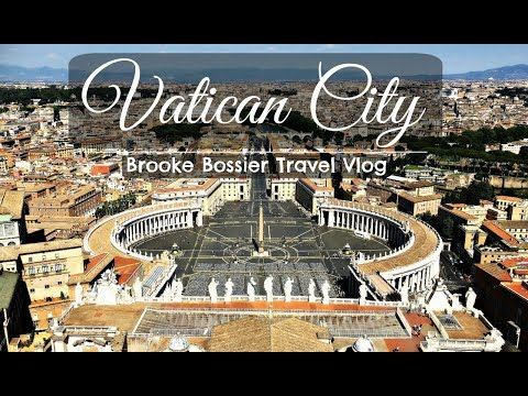 VATICAN CITY & SISTINE CHAPEL // Last Day in Rome // Travel Vlog #8