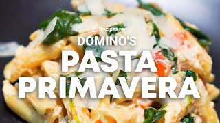We've been inspired by how delicious and flavorful domino's pizza makes their star-studded pasta primavera. the variety of vegetable toppings it a heal...