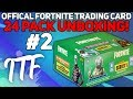Unboxing 24 Packs of Fortnite Series 1 Trading Cards #2! (Fortnite Battle Royale)