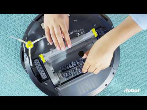 How to Clean the Brushes | Roomba® 600 Series Robot Vacuums