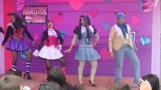 Show  Infantil de Monster High Recreolandia HD ( LIMA - PERU)