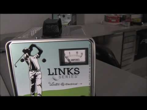 The Old Style Lester Electric Links Series 48 Volt Club Car Golf Cart Battery Charger