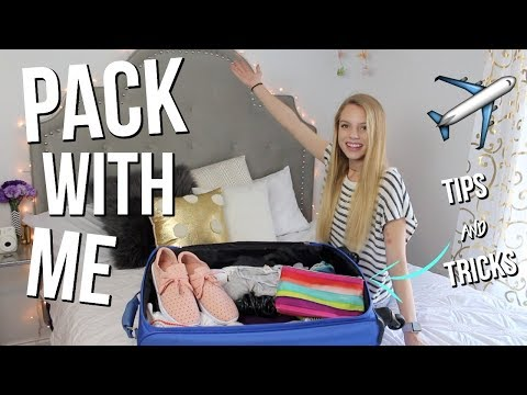 Pack With Me | My Tips & Tricks For Packing + Giveaway