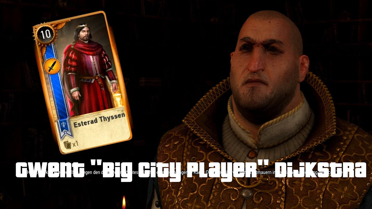 witcher 3  gwent  gwint  quest big city players