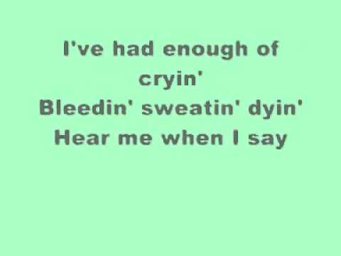 everyday-bon jovi (with lyrics)
